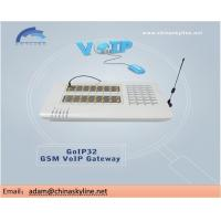 China 60% voip business using goip 32ports GSM gateway and can keep good ASR and ACD wholesale