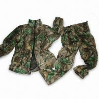 China Water-resistant Hunting Set with TPU Membrane and Tricot Shell wholesale