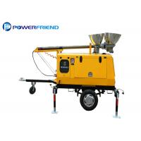 China 4000w Mobile Light Tower Generator Mobile Light Tower With Metal Halide Lights Trailer Type wholesale