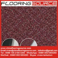 "China Vinyl Flooring Tiles Carpet Wooden Pattern Design 18""x18""; 24""x24""; 36""x36"" wholesale"