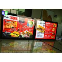 edge lit led poster light box 27x40 movie poster frame