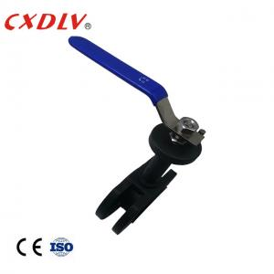 China PPL Seat Flanged End Ball Valve Lever Operation With Extended Stem wholesale