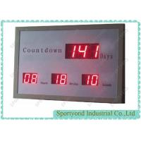 China LED Digital Days Display with Electronic Countdown Timer and red light wholesale