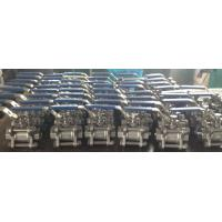 Cast steel high pressure screwed & NPT ends 3pc body ball valve