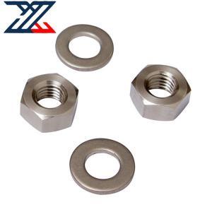 China TP304 316 Titanium 4 Axis CNC Production Machining Hexagon Nut wholesale