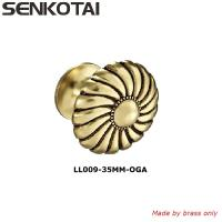 Buy cheap Antique Style Brass Elegant Solid Hardware Knobs for Furniture Cabinet Closet from wholesalers