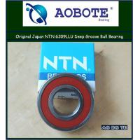 China Japan NTN 6309LLU NTN Ball Bearings ABEC 5 , Deep Groove Ball Bearing wholesale