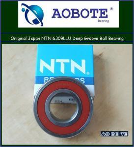 China Japan NTN 6309LLU NTN Ball Bearings ABEC 5 , Deep Groove Ball Bearing wholesale