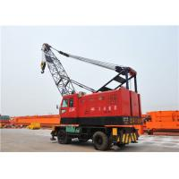 China Rubber Tyred Mobile Harbour Crane For Loading And Unloading Cargos wholesale