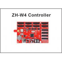 China ZH-W4 led wifi controller card 800*128 pixels with USB port for p10 module panel led moving programble sign on sale