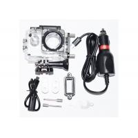 China SJCAM Waterproof  Case  with Charger for SJ4000 + Plus SJ4000 WIF on Motorcycle wholesale
