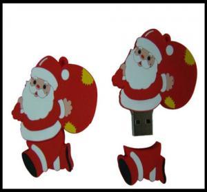 China Christmas Gift!!! OEM Santa Claus Pvc usb flash drive, usb flash memory, usb flash wholesale