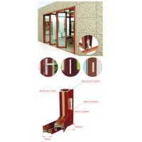 China Living Room Entrance Aluminum Foldable Glass Door Flexible Sliding Closed wholesale