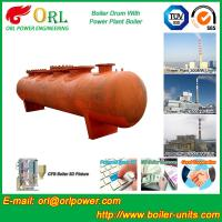 China Alloy steel 50 ton boiler spare part mud drum for chemical industry ORL Power TUV wholesale
