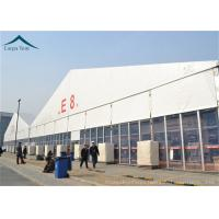China PVC Roof Outdoor Exhibition Tents White / Clear / Orange , Fire Proof And Water Proof wholesale