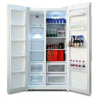 China R600A Automatic Defrost 200L Double Door Refrigerator for Commercial Use on sale
