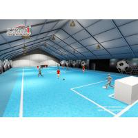China Self - cleaning 10m Height Aluminum Sport Event Tents For Temporary Mobile Stadium wholesale