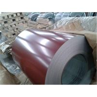 China Custom Prepainted Galvanized Steel Coil , 0.14mm-1.6mm PPGI Steel Coil wholesale
