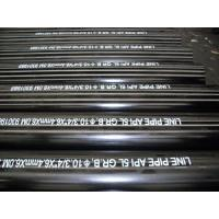 China 10'' Line Pipe API Steel Pipe , Longitudinal Welded API 5L Grade B ERW Pipe wholesale
