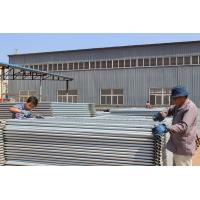China Hot Dipped Galvanized In Zinc Bath Temporary Security Fencing Panels 2100mm*2400mm Melbourne AS4687-2007 wholesale