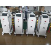 China 808 755 1064 Hair Removing Laser Machine With  Max 120J / Cm2 V Energy Density wholesale