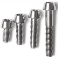 China DIN titanium screws /bolts and nuts/wheels bolts titanium ti 6al 4v/motorcycle equip wholesale