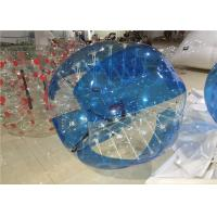 China Blue 1.5mm PVC Adult Hamster Ball , Bubble Ball Human Zorb Ball 1.5m on sale