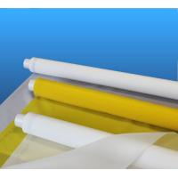 China High Tension White Polyester Silk Screen Printing Mesh 250 280 Mesh Monofilament on sale