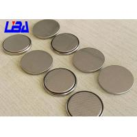 China Hearing Aid Li - MnO2 Coin Cell Battery , Long Life 3v Lithium Battery Cr2025 wholesale