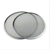 Square Hole Stainless Steel Woven Wire Mesh Filter Cutting Disc For 900 Mm Dia