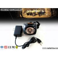 China Cordless Hard Hat Lights with LCD Screen Black Classic Mining Headlamp wholesale