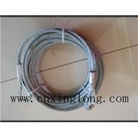 China Sell  wire rope sling with thimble in both ends wholesale