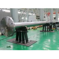 Quality High Lift Alloy Steel Marine Rudder Tail Shaft Forging 25MN - 80MN Hydraulic for sale
