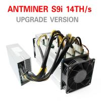 China Asic Mining Machine Antminer S9i-14.5 Th/s Scrypt Asic Miner 1365W With Power Supply wholesale
