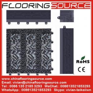 China Modular Matting Interlocking Tile Outdoor Carpeting for Commercial Entrance wholesale