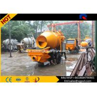 China 7Mpa Outlet Pressure Concrete Mixer Pump with Open Hydraulic System wholesale