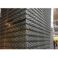 Quality Perforated Aluminum Decorative Panels With Rhombic Pattern for Audi Workshop for sale