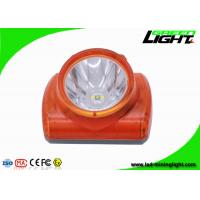 China Explosion Proof Miners Lights For Hard Hats , Lightweight Led Miners Cap Lamp 13000 Lux wholesale