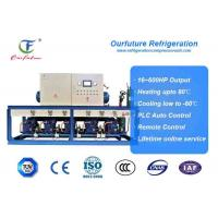 China 40hp*5 R404a GEA Bock Brand Cold Room Compressor Unit Seed Production wholesale