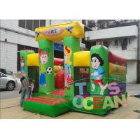 Quality Colorful Commercial Inflatable Bounce House Jumping For Toddlers for sale