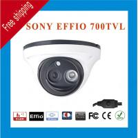 China Free Shipping Effio Sony HD CCD 960H 700TVL Color ARRAY LED IR Indoor Outdoor CCTV Dome Security Camera wholesale