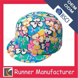 China Flat Bill Custom Snapback Hats Wholesale wholesale