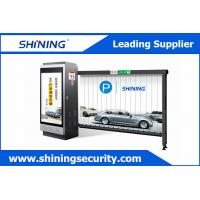 Buy cheap 92 * 830mm Advertising Electronic Barrier GatesWith Anti - Lightning Attack from wholesalers