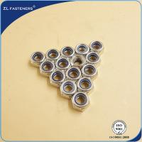 China DIN985 White / DIN 982 Steel Hex Nut Self Lock Nut High Precision Free Samples wholesale