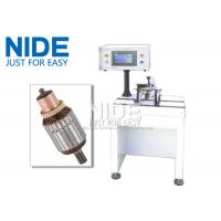 China PLC Controlled Armature Balancing Machine , Automatic Motor Rotor Testing Equipment wholesale