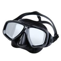 China Anti Fog Adult Diving Mask With Optical Lens , Professional Silicone Diving Mask wholesale