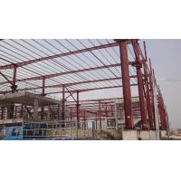 China Fast Assembling Steel Skeleton Frame , Rigid Steel Frame For Large Steel Market wholesale