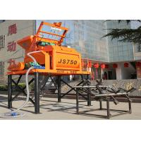 China High Technology Twin Shaft JS750 Stationary Concrete Mixer 750L Concrete Mixer 750 Liter on sale