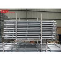 China Multipurpose Layher Scaffolding System Ringlock Standards Horizontal Bay Brace wholesale