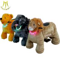 China Hansel kiddie ride on animal robot made in China and toys vending machine animal ride with kids animal on sale